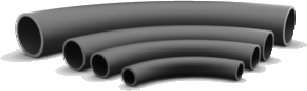 Wear resistant Ceramic Lined Bend Pipes